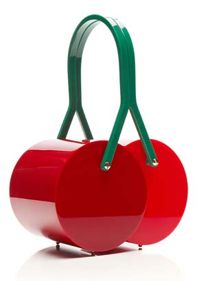 Cherry On Top Perspex Clutch that is adorably irresistible.