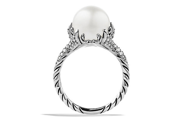David Yurman's Starburst Pearl Ring