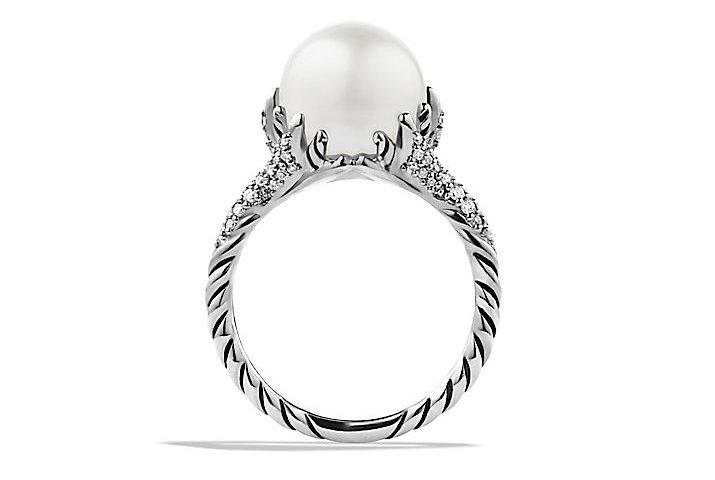 David Yurman's Starburst Pearl Ring