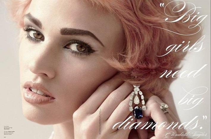 Laura Stone Diamonds Ad