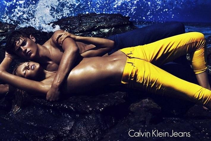 Laura Stone Calvin Klein Jeans