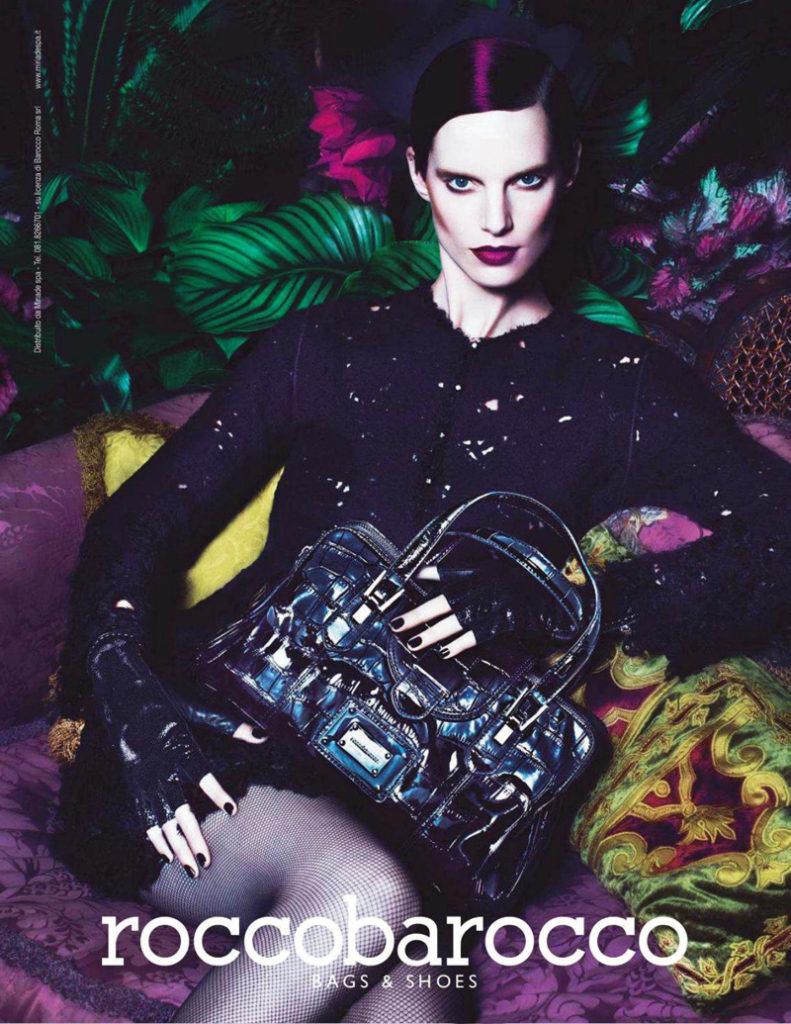 Fashion model Iris Strubegger