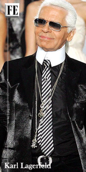 Karl Lagerfeld icon of fashion