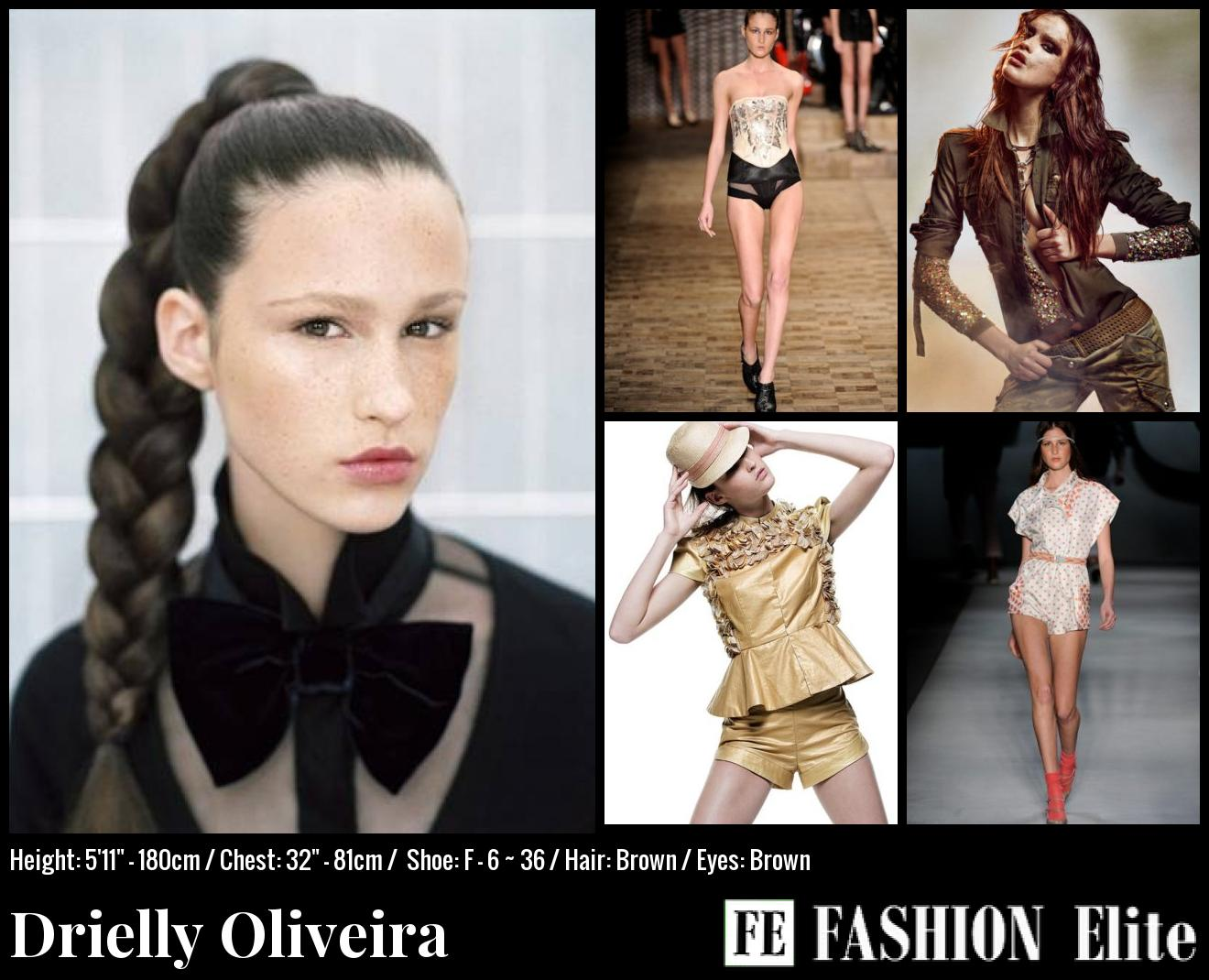 Drielly Oliveira Comp Card
