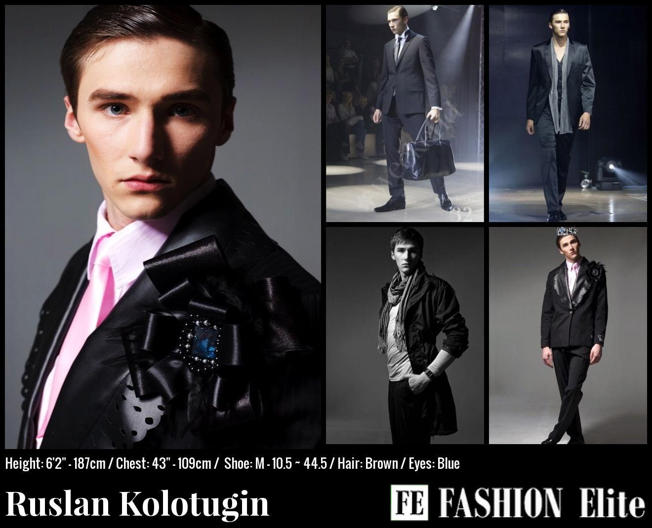 Ruslan Kolotugin Comp Card