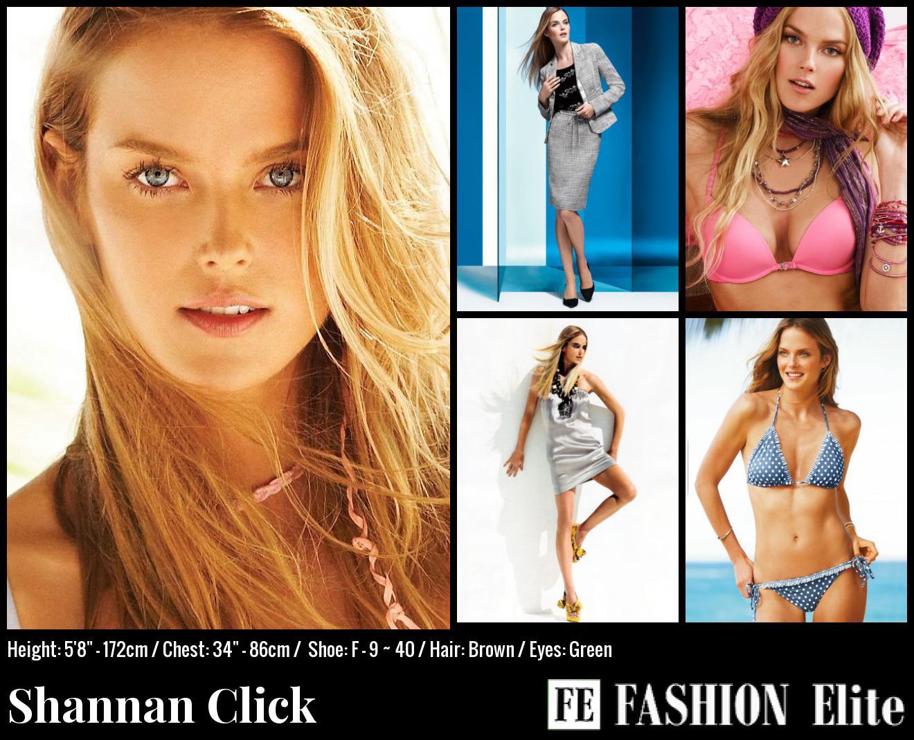 Shannan Click Comp Card