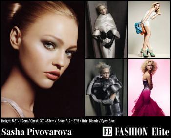 Sasha Pivovarova Comp Card