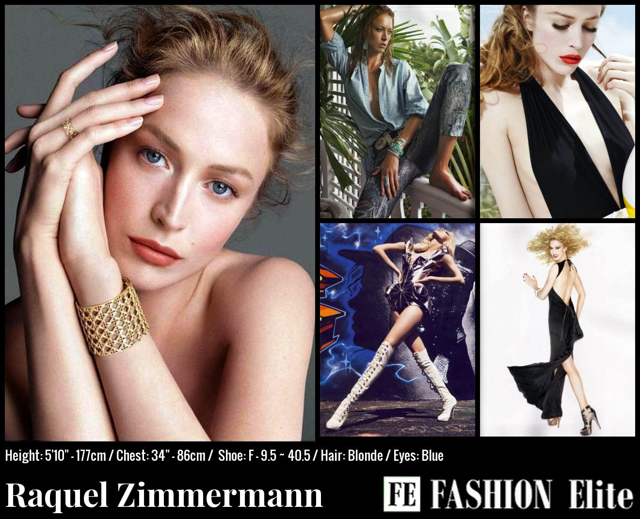 Raquel Zimmermann Comp Card
