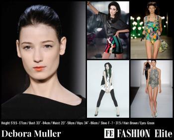 Debora Muller Comp Card