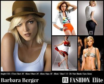Barbara Berger Comp Card
