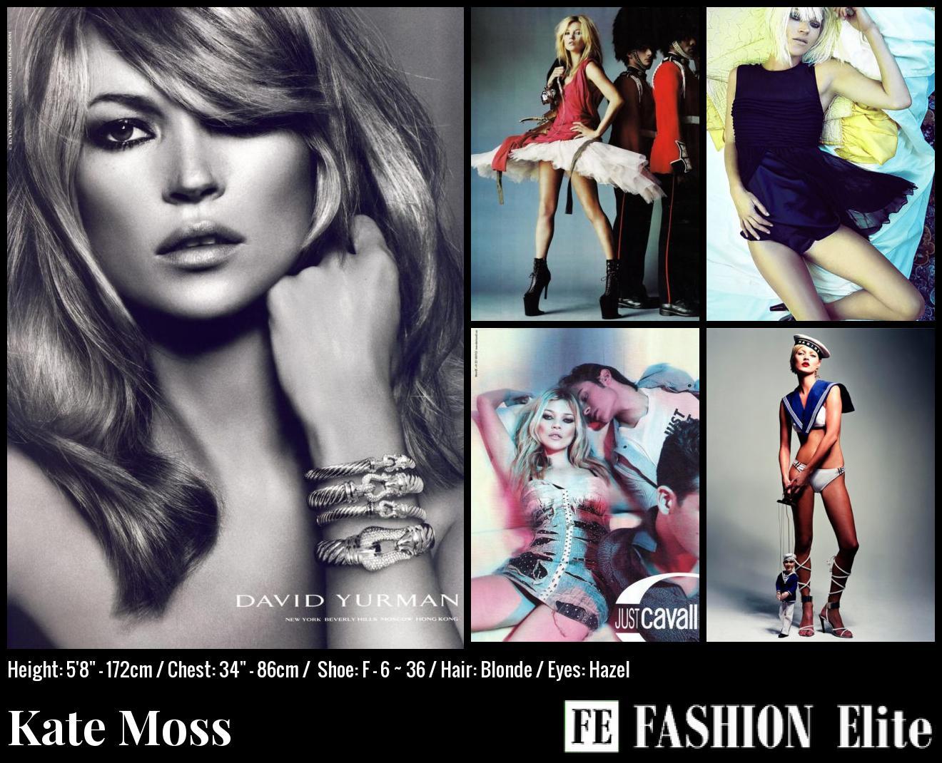 Kate Moss Comp Card