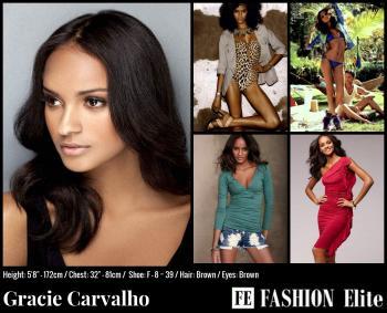 Gracie Carvalho Comp Card