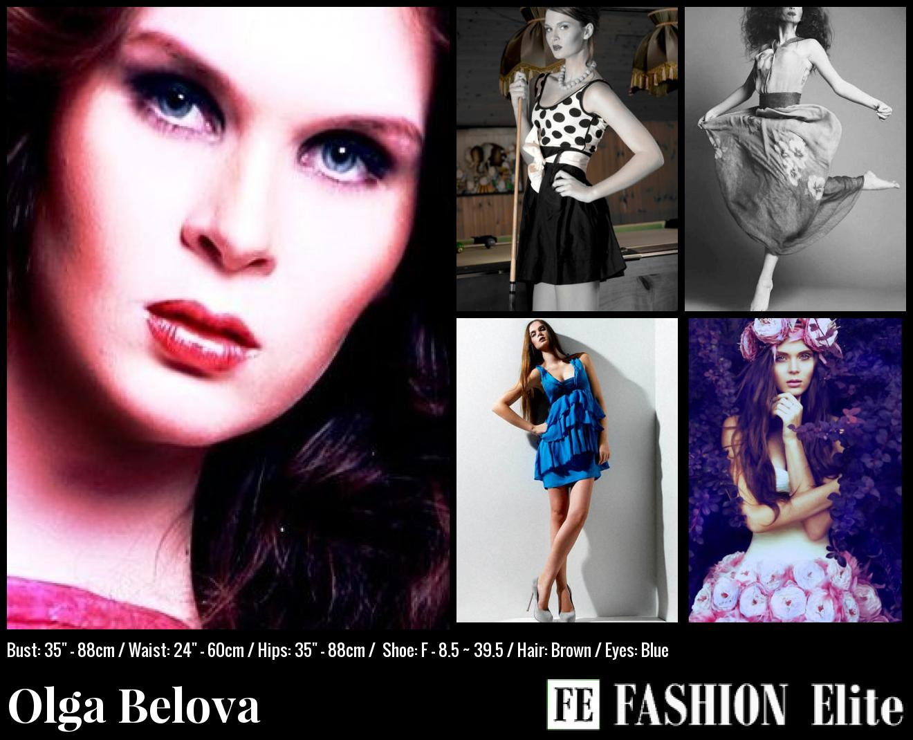 Olga Belova Comp Card