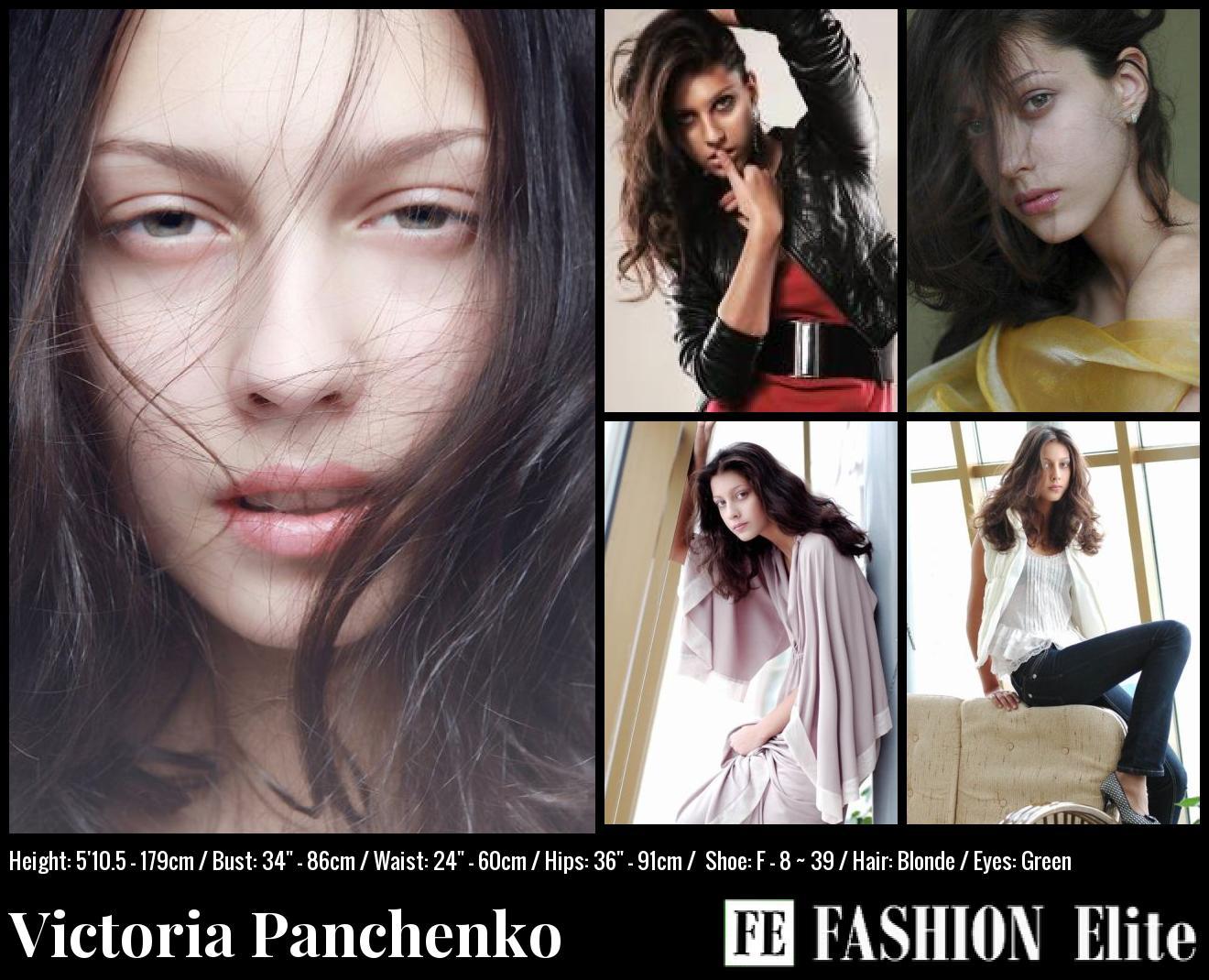 Victoria Panchenko Comp Card