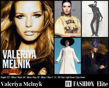 Valeriya Melnyk Comp Card