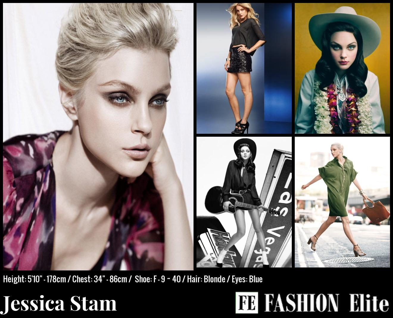 Jessica Stam Comp Card