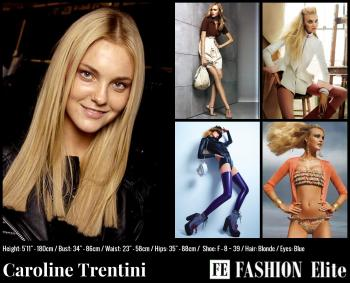 Caroline Trentini Comp Card