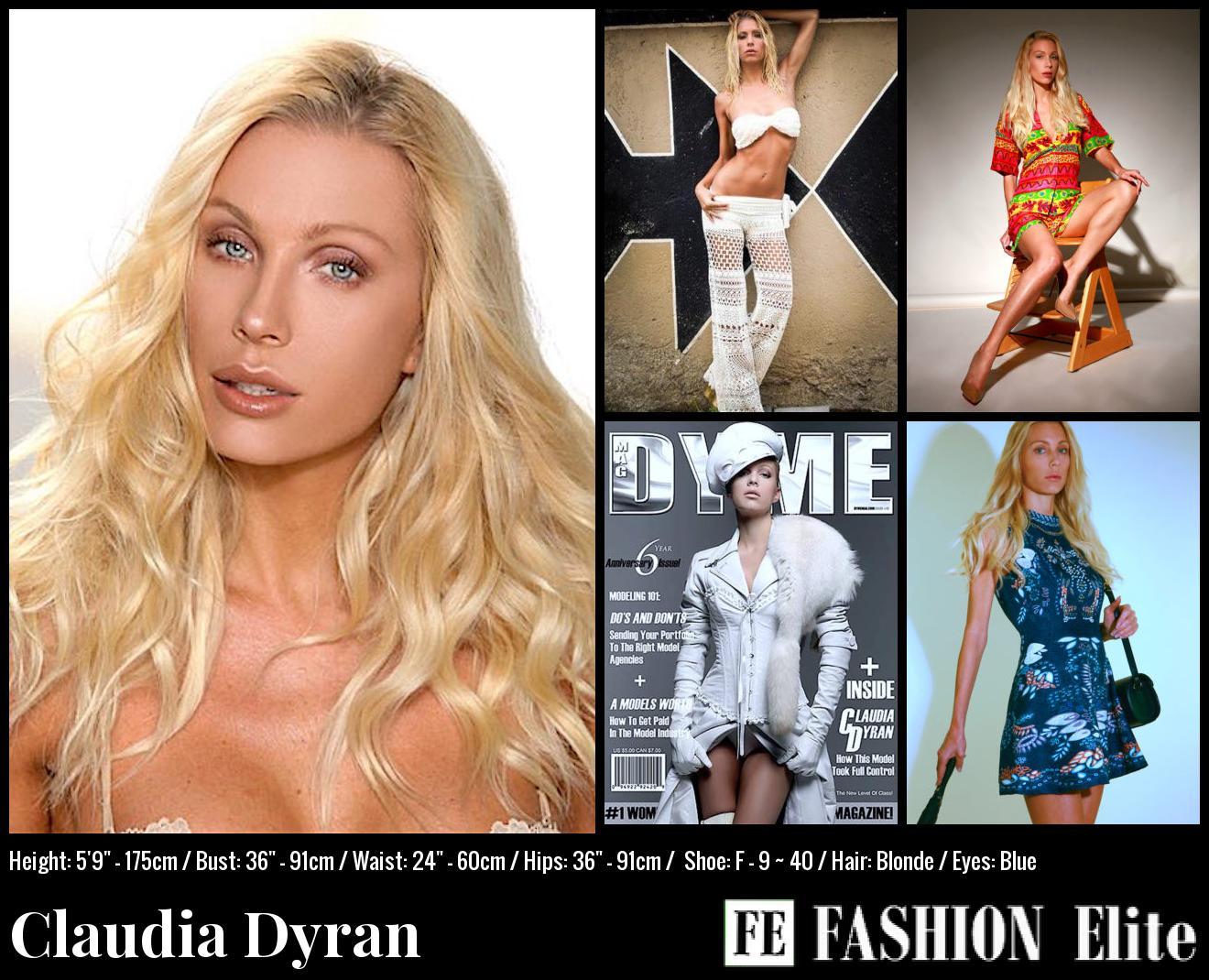 Claudia Dyran Comp Card