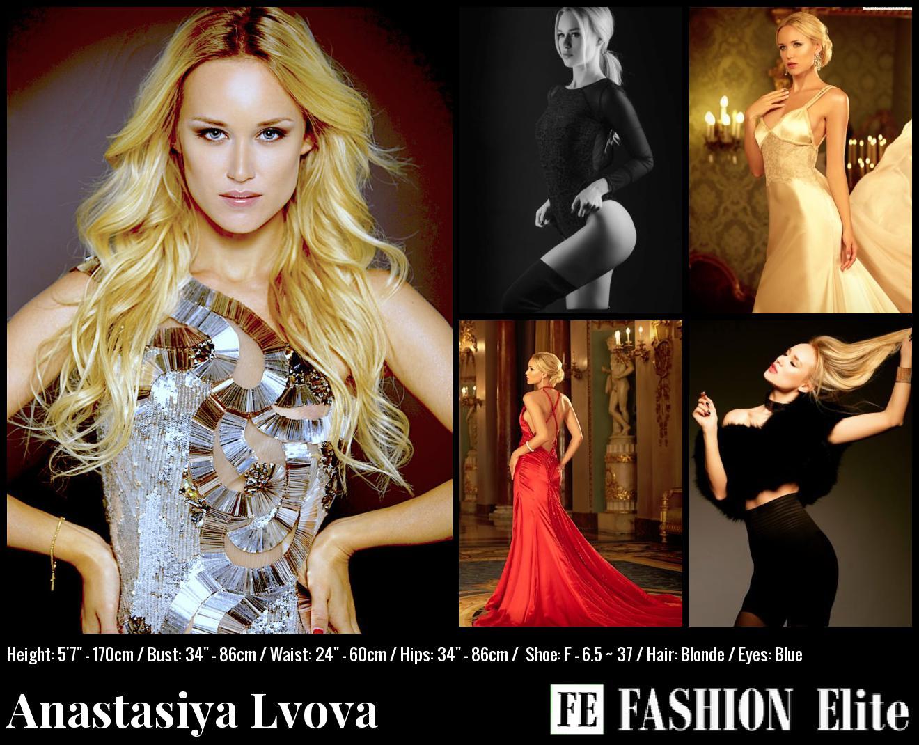 Anastasiya Lvova Comp Card