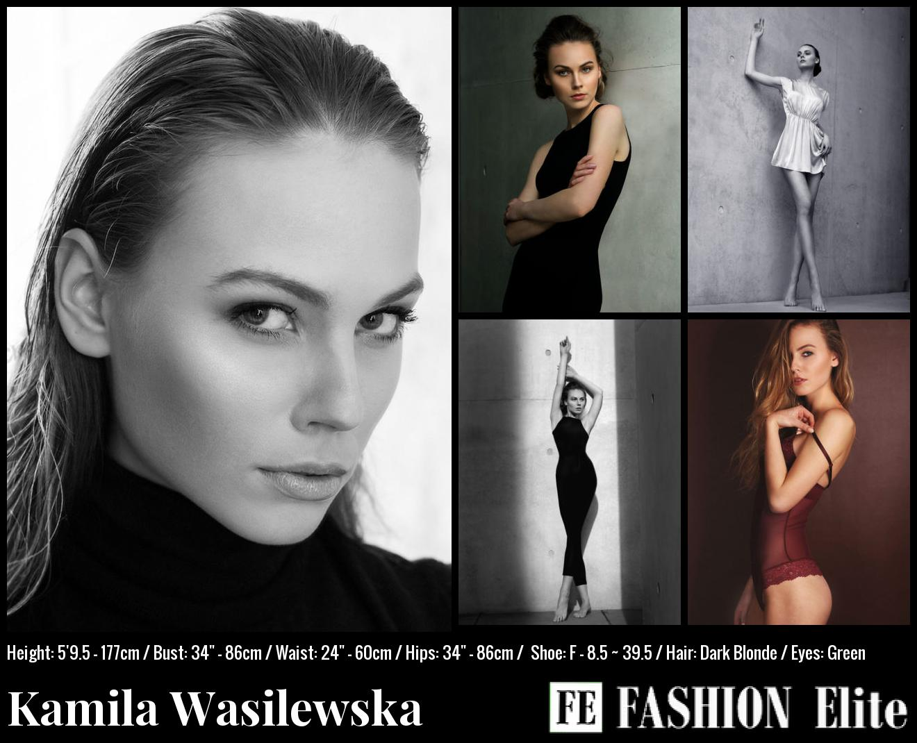 Kamila Wasilewska Comp Card