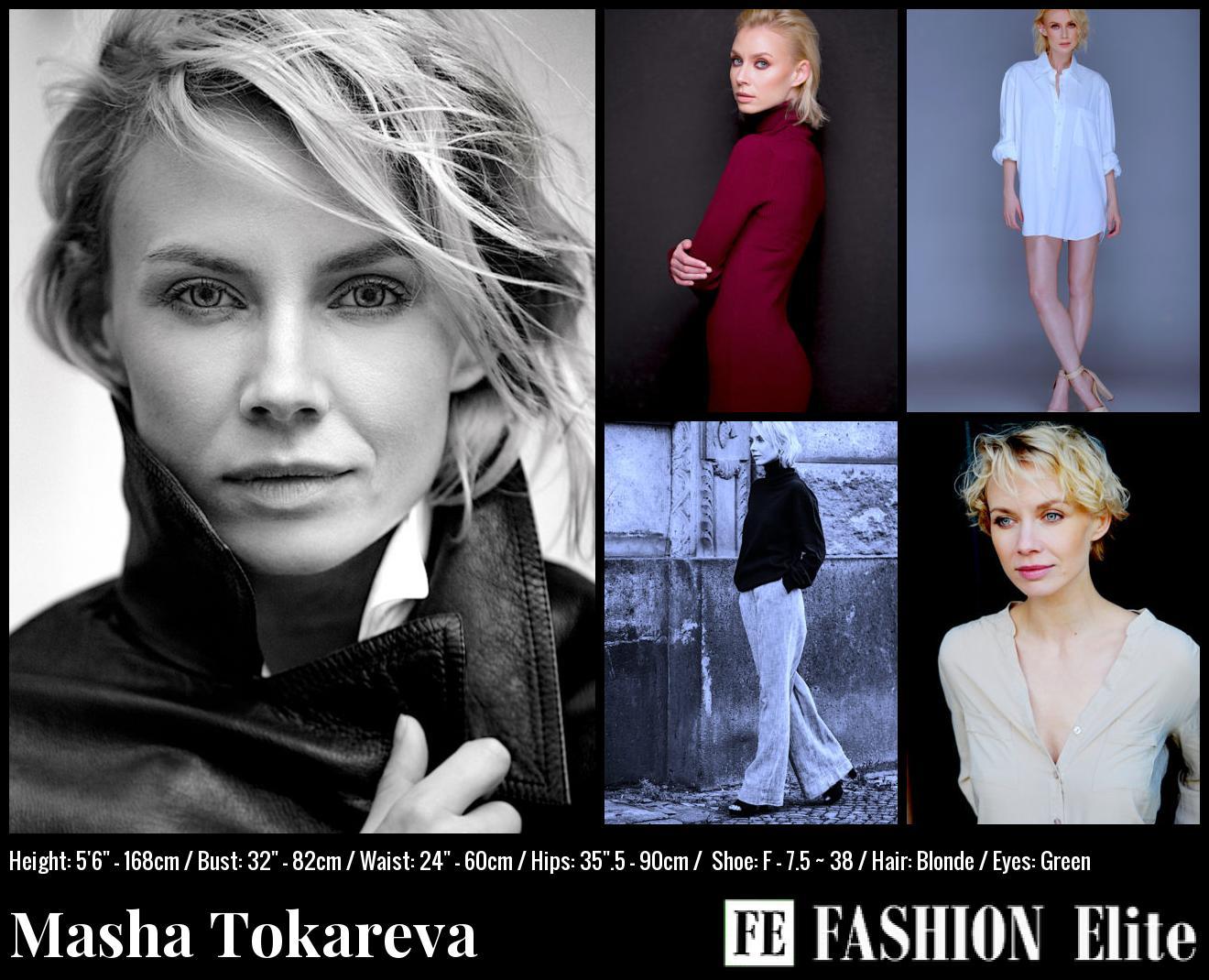 Masha Tokareva Comp Card