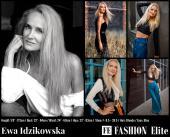 Ewa Idzikowska Comp Card