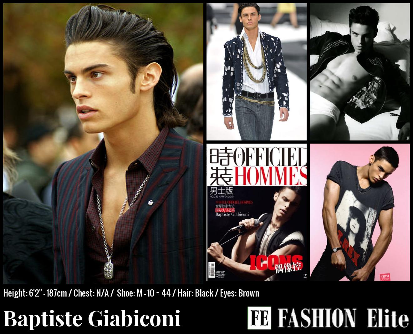 Baptiste Giabiconi Comp Card