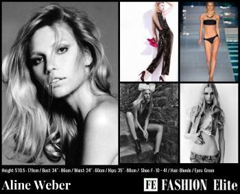 Aline Weber Comp Card